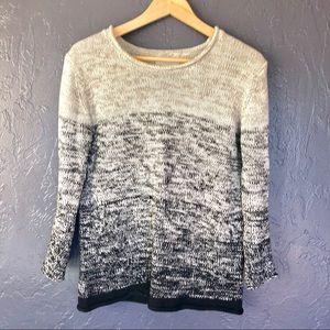 Velvet by Graham & Spencer Cotton Knit Sweater S